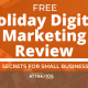 free holiday digital marketing review