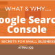 google search console set up