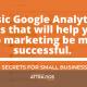basic google analytics stats you need to know- digital marketing success pensacola fl