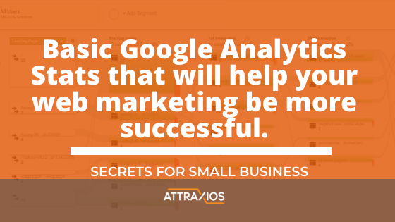 basic google analytics stats you need to know- digital marketing success pensacola fl