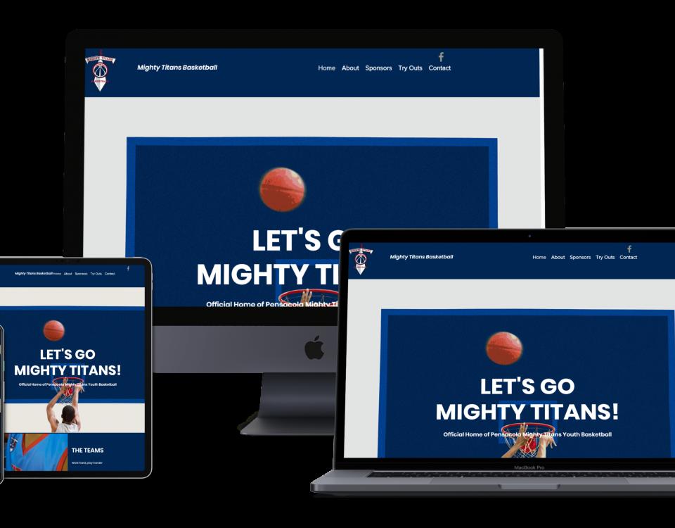 mighty titans pensacola web design